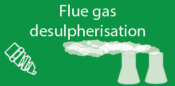 Nozzles for flue gas desulpherisation