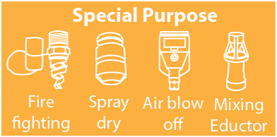 Special purpose nozzle