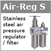 Hygienic air regulator system