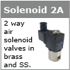 2 way air solenoid