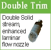 double trim nozzle