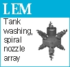 Multi nozzle array LEM
