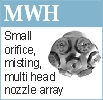 MHW multi headed misting nozzle