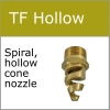 TF hollow cone spiral nozzle