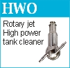 hydrowhirl orbitor high pressure tank washing nozzle