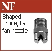 Flat fan nozzle box (NF)